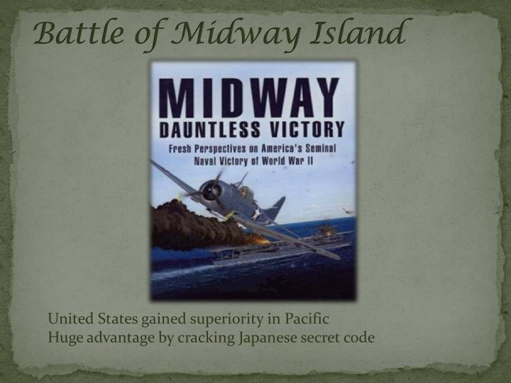Battle of Midway Island