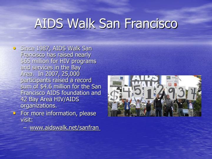 AIDS Walk San Francisco