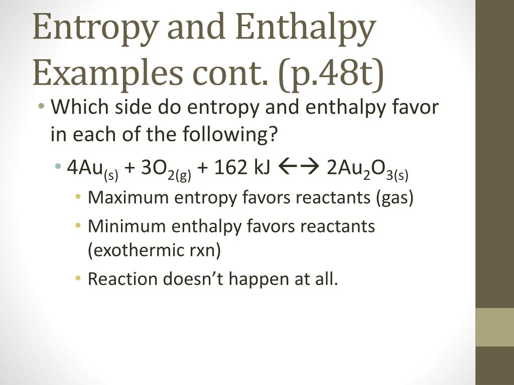 PPT - Enthalpy (p 43t) PowerPoint Presentation - ID:6359684