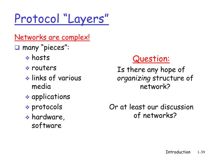 Networks are complex!