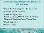 troubleshooting windows 9x hardware and software1