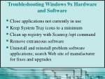troubleshooting windows 9x hardware and software2