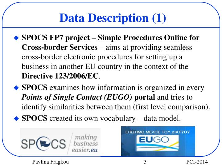 Data description 1