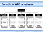 exemplo de wbs de software