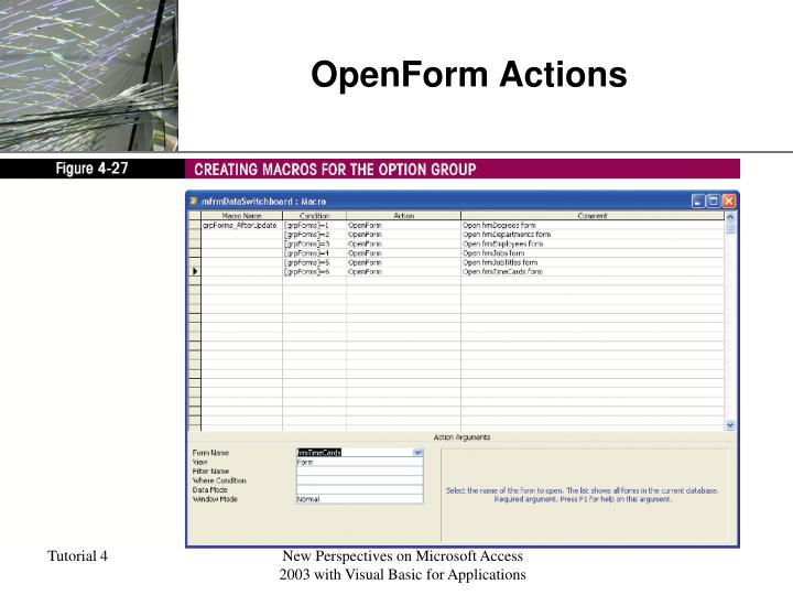 OpenForm Actions