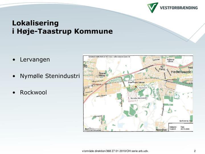 PPT - Høje Taastrup Miljøpark - en bæredygtige vej fra affald til ressource PowerPoint ...