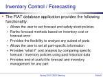 inventory control forecasting1