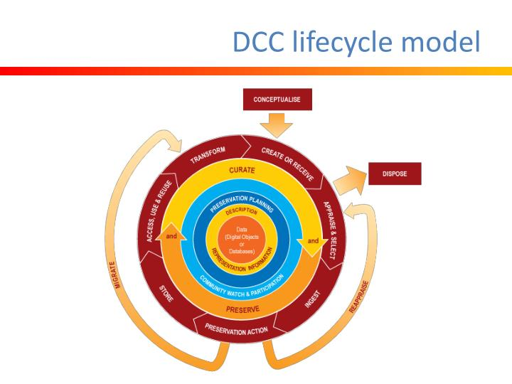 DCC lifecycle model