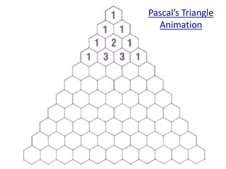 Pascal's Triangle Animation