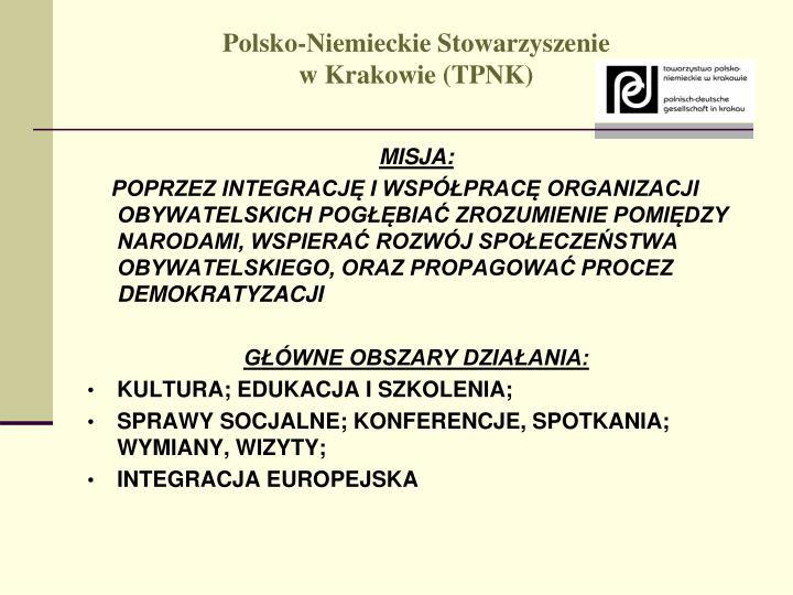 Polsko niemieckie stowarzyszenie w krakowie tpnk1
