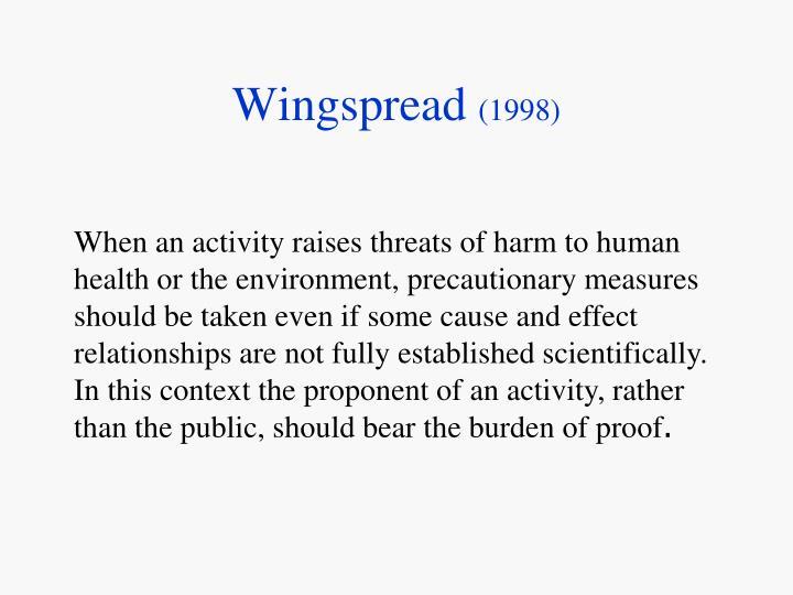 Wingspread 1998