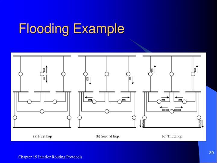 Flooding Example
