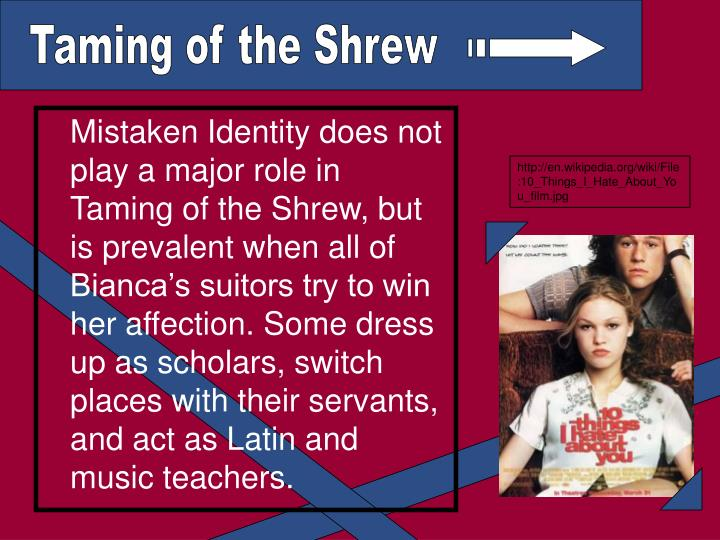 the taming of the shrew and christian relationships essay The plot of the taming of the shrew hinges on the marriages of baptista's two daughters over the course of the play, there is a significant tension between different understandings of what marriage is.