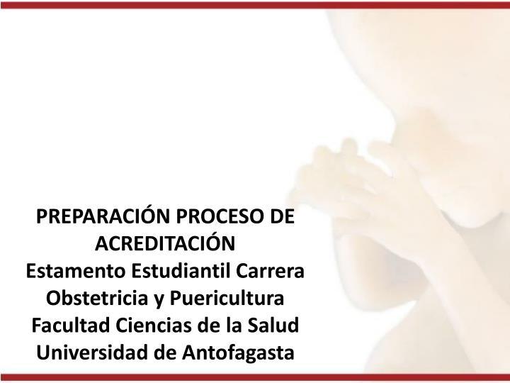 PREPARACIÓN PROCESO DE ACREDITACIÓN