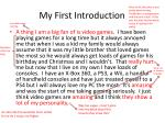 my first introduction1