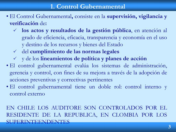 1 control gubernamental