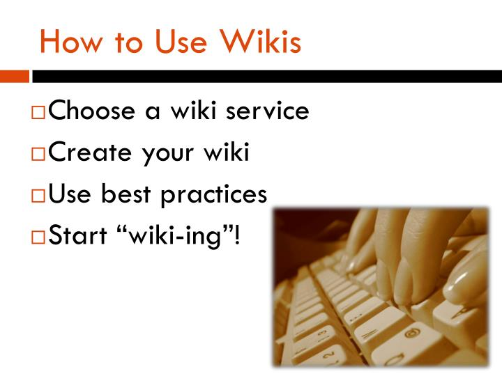 How to Use Wikis