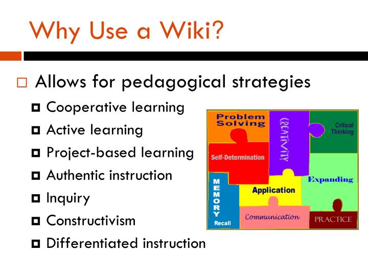 Why Use a Wiki