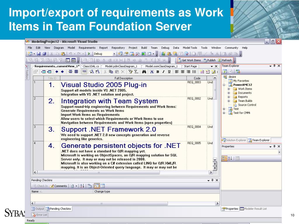 PPT - UML modeling for Microsoft Visual Studio PowerPoint