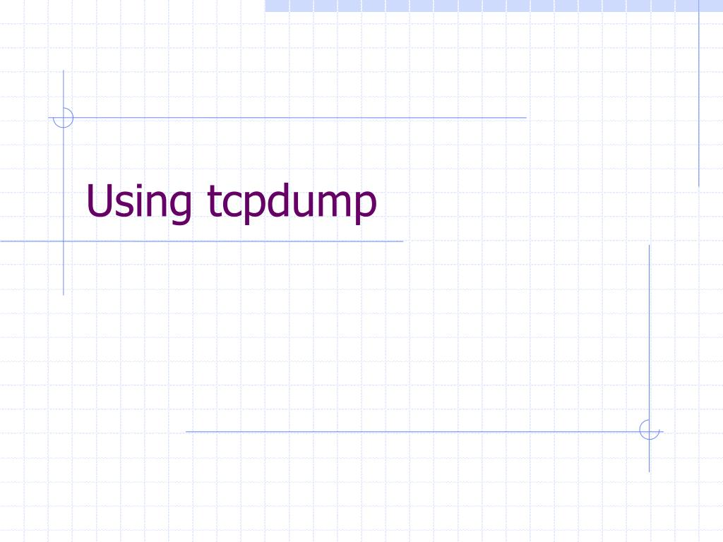 Tcpdump Analysis Tool