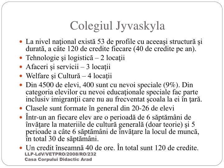 Colegiul Jyvaskyla