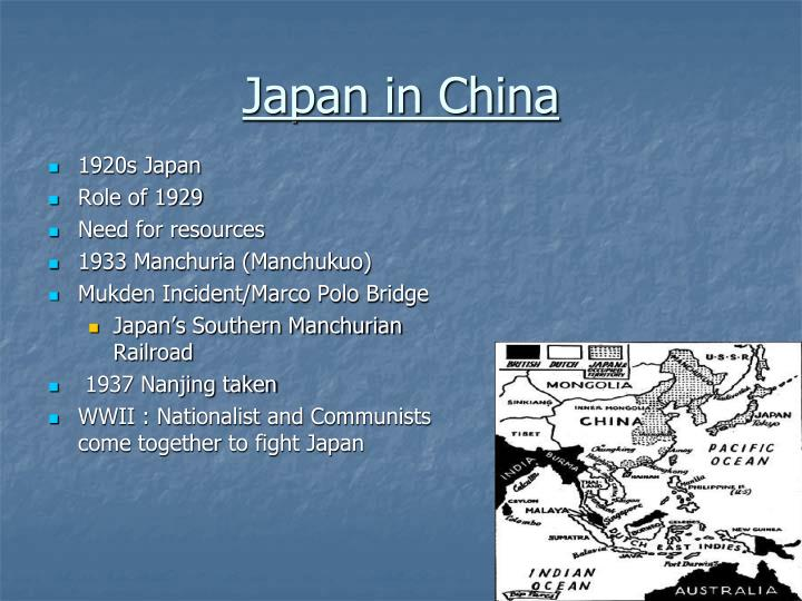 Japan in China