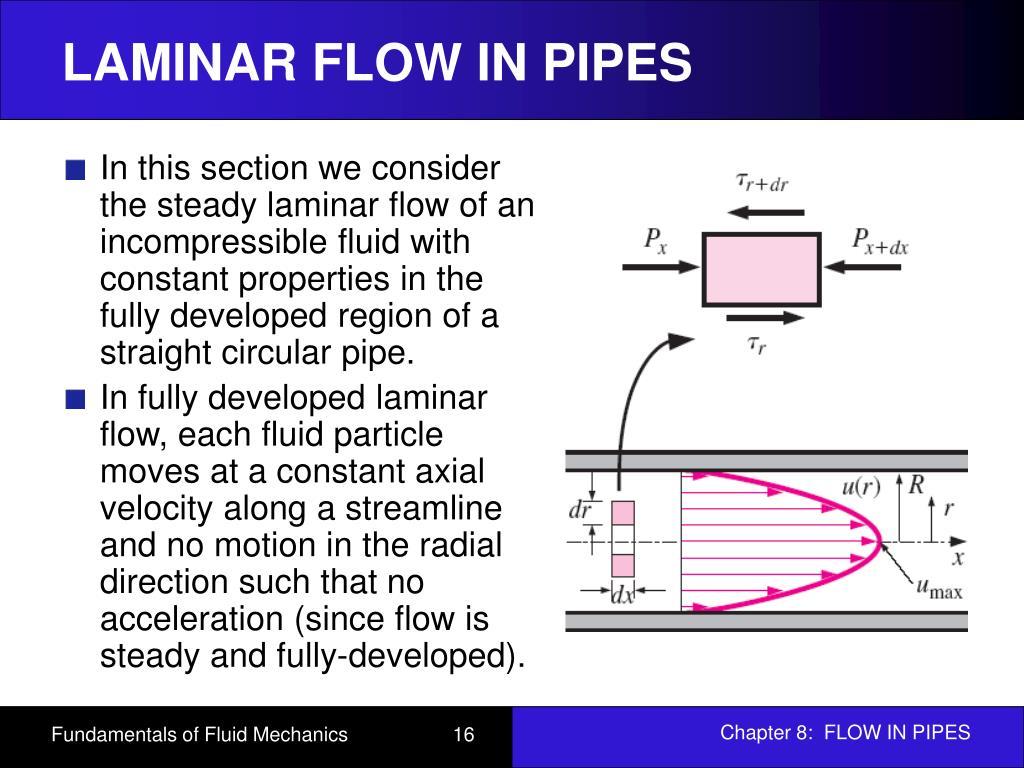 Circular Pipe Flow