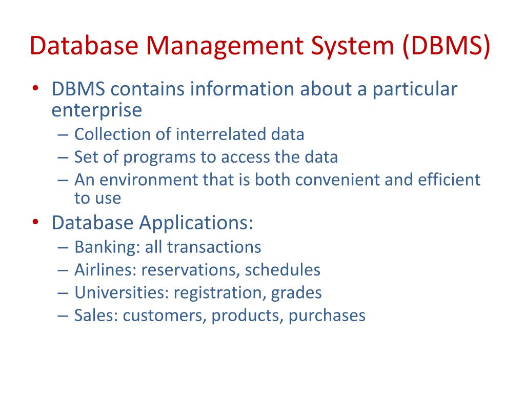 PPT - MIS 335 - Database Systems PowerPoint Presentation - ID:6363940