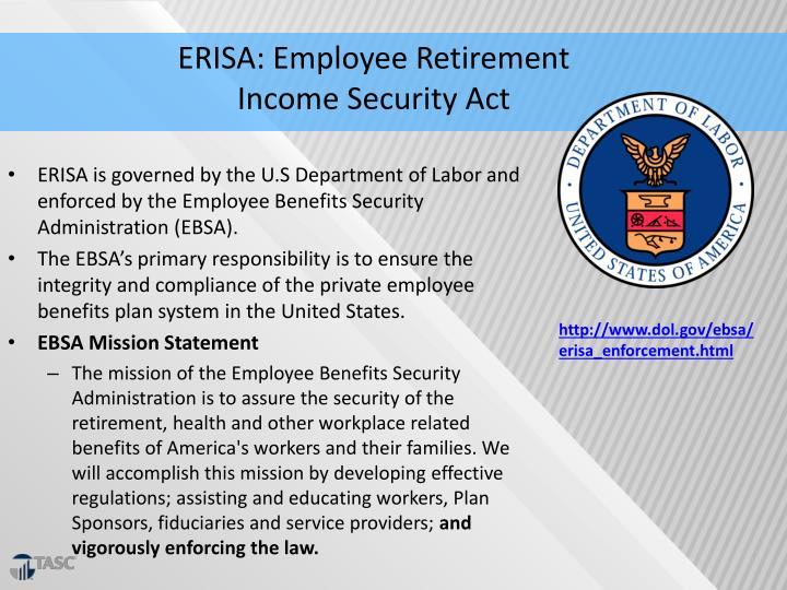 ERISA: Employee Retirement