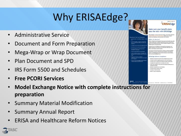 Why ERISAEdge?