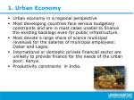 1 urban economy
