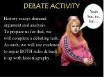debate activity