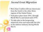 second great migration