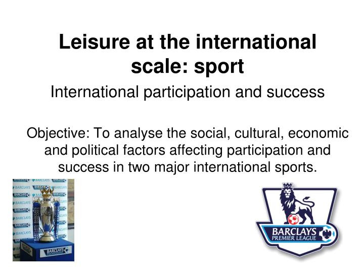 factors affecting participation in certain sports essay