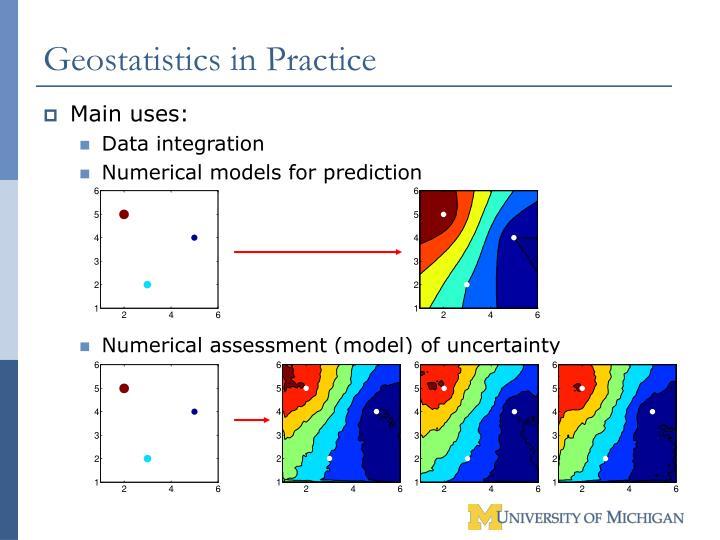 Geostatistics in Practice