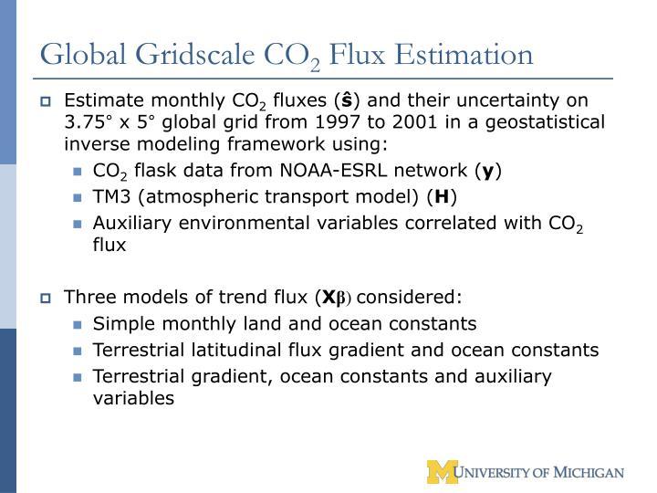 Global Gridscale CO
