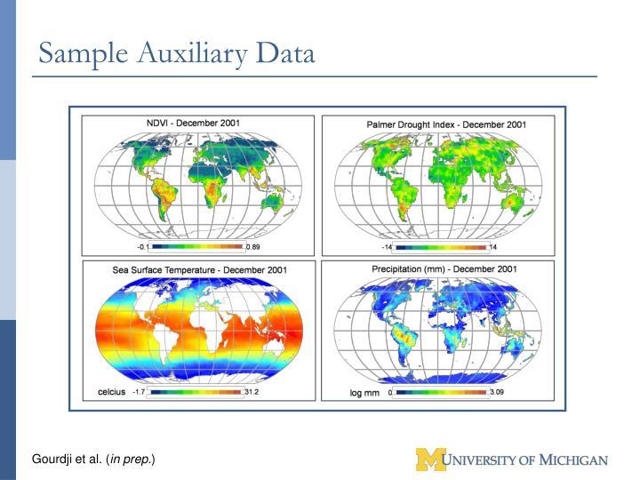 Sample Auxiliary Data