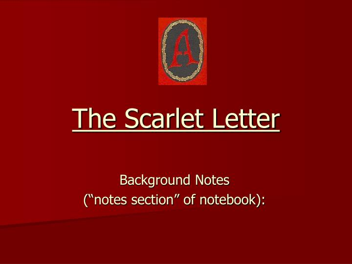 scarlet letter essay on quote