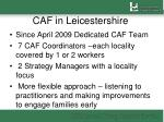 caf in leicestershire1