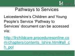 pathways to services3