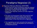 paradigma negosiasi 2