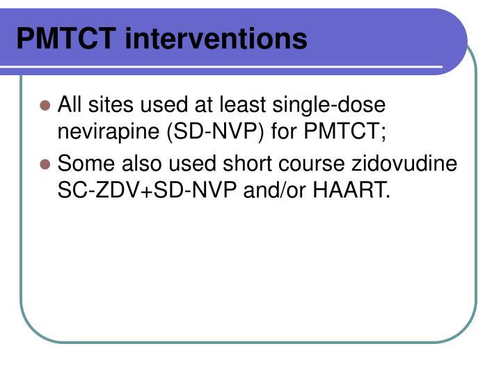 PMTCT interventions