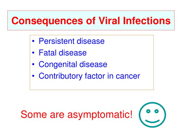 Consequences of Viral Infections