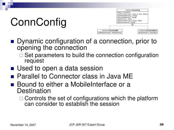 ConnConfig