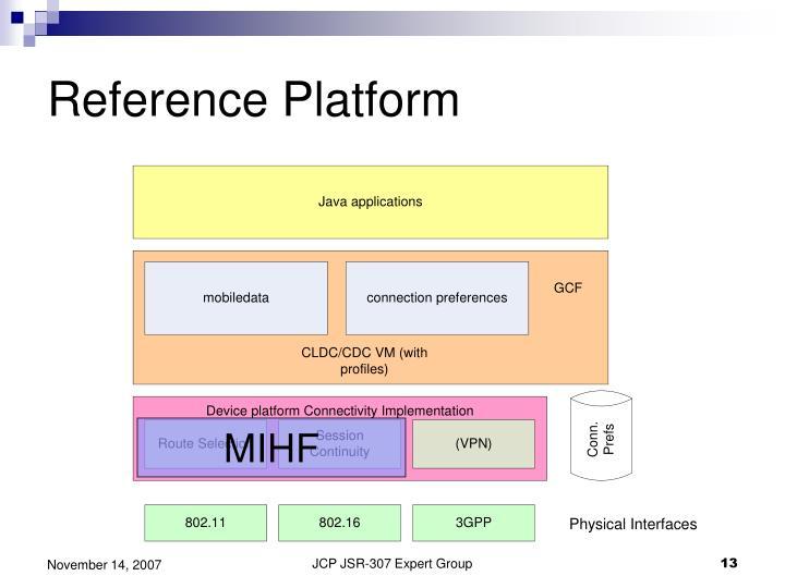 Reference Platform
