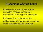 dissezione aortica acuta
