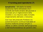 il nursing post operatorio 7