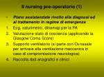 il nursing pre operatorio 1