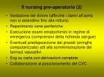 il nursing pre operatorio 2