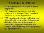 il nursing pre operatorio 6
